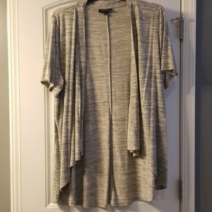 Lane Bryant 22/24 Gray Marled Overpiece